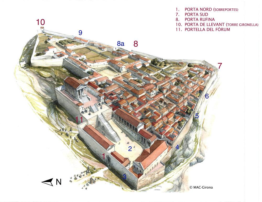 Itinerari Gerunda Romana Museu D Arqueologia De Catalunya Flickr