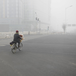 Beijing Smog Again | by Lu, Feng