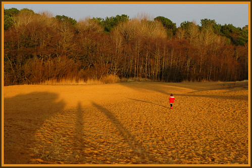 sunset wales sand shadows south sanddunes merthyrmawr