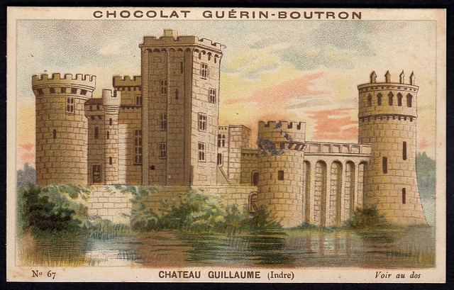 French Tradecard - Chateau Guillaume