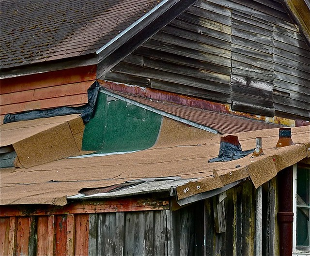 Many Layers, Back Of Stagecoach Stop, San Gregorio, California