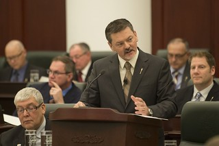 Delivering the Budget address | by Government of Alberta