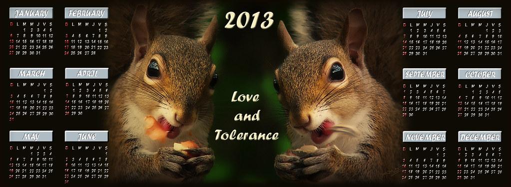 Calendario Fox.Amor Y Tolerancia Calendario 2013 Photo Taken In Orlando