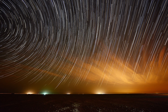 Salmi Desert-Star Trails