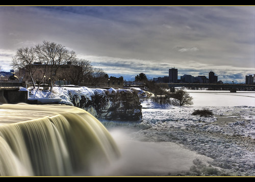 "longexposure winter ice waterfall spring ottawa filter nd hdr rideau simplybeautiful ""flickraward5"""