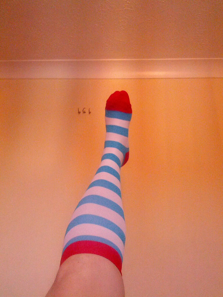 Today's (Compression) Socks
