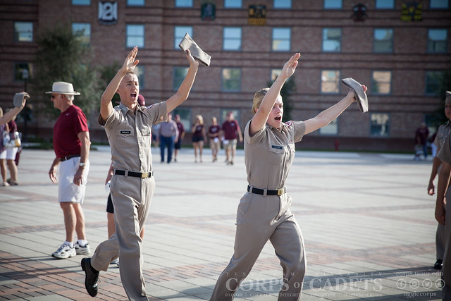 Texas A&M Corps of Cadets Gameday Prairie View A&M 2016