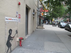 Help Zabars Save this Banksy Graffiti Street Art 3612