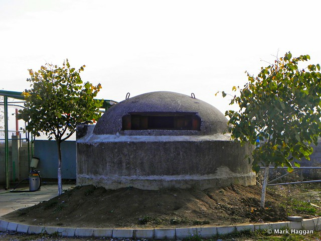 A defensive bunker in Albania