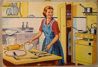 Vintage or Retro Kitchen | by Lori L. Stalteri