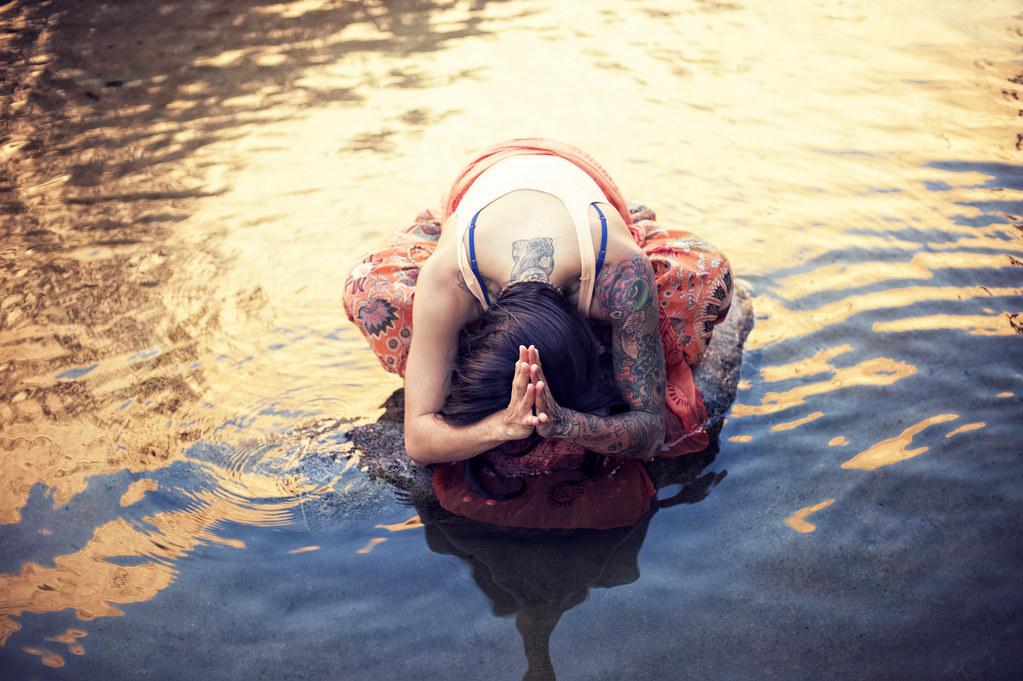 Yoga Water Goddess