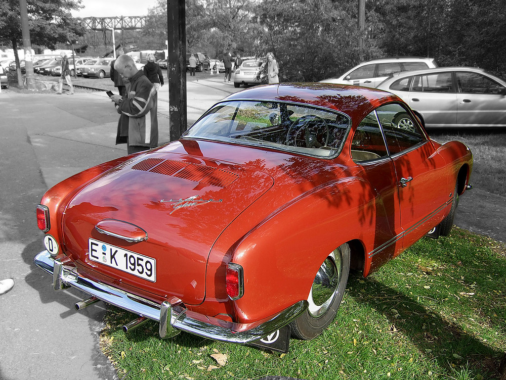 VW Karmann Ghia - 1955