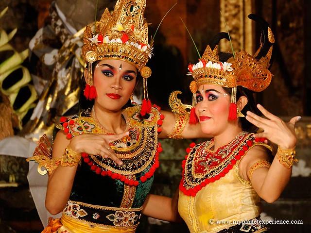 Legong Dancers - Bali, Indonesia