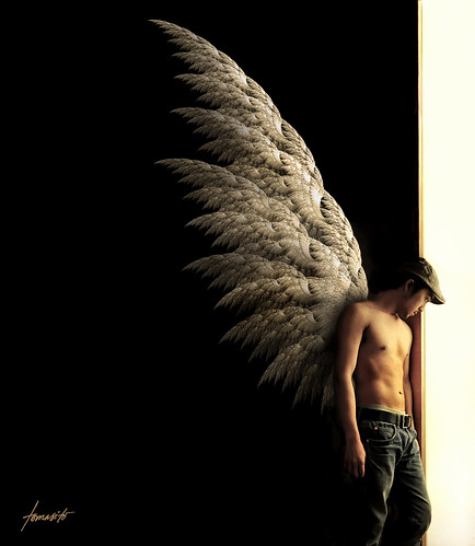 The Archangel: Waiting By Heaven's Door | by Tomasito.!