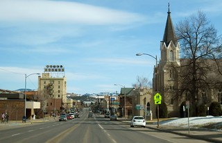 Driving into downtown Bozeman MT   by SaucyGlo