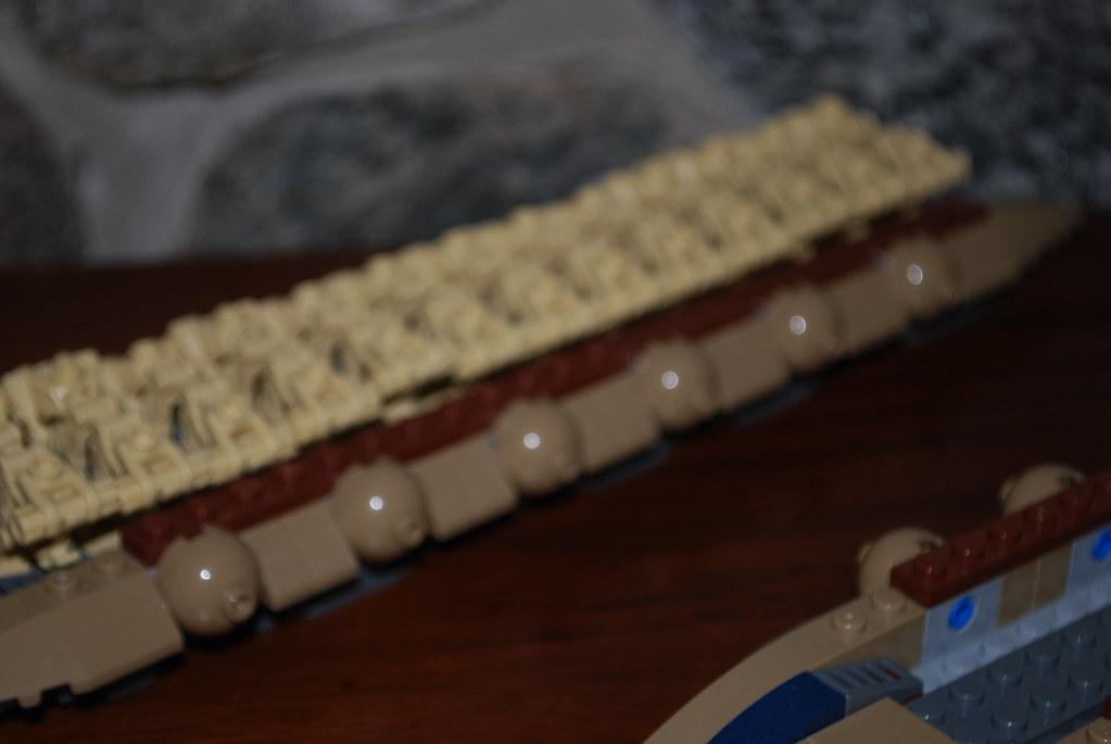 Lego Star Wars Droid Carrier Custom Kashyyyk Built These F Flickr