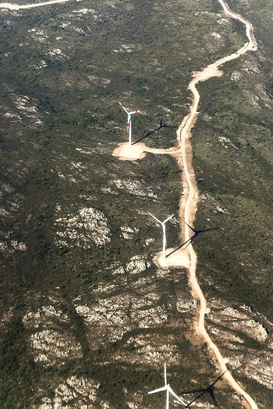 Parco eolico di Buddusò e Alà dei Sardi