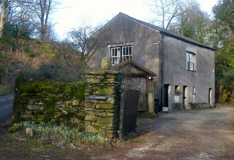 Low Ludderburn barn, Cartmel Fell