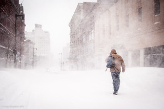 Into the White   by Corey Templeton