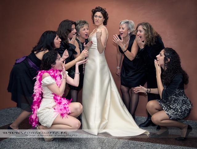 Una boda divertida