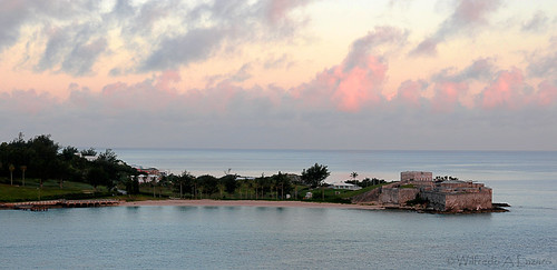 pink beach saint landscape dawn sand fort catherine bermuda stcatherine saintcatherine fortstcatherine stgeorgesisland