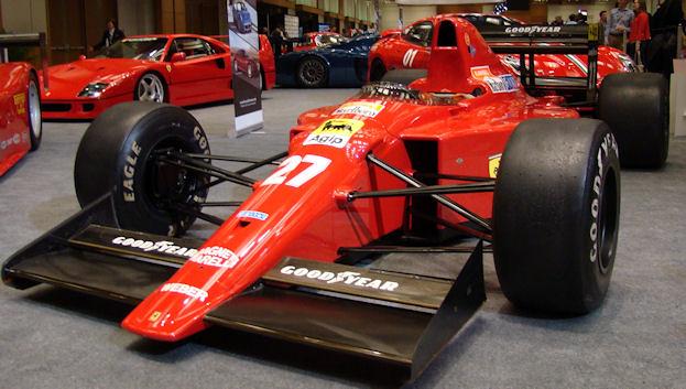 1989 Nigel Mansell Ferrari 640 Formula 1 Car