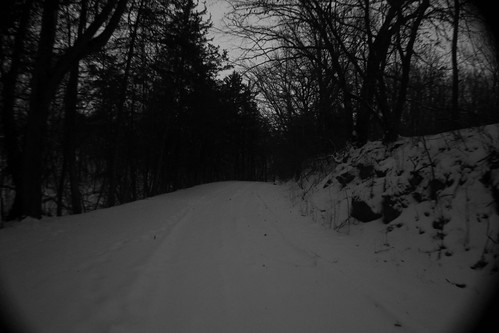 road blackandwhite snow nikon eerie iowa haunted creepy adventure