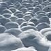 Frozen bubbles by class M planet