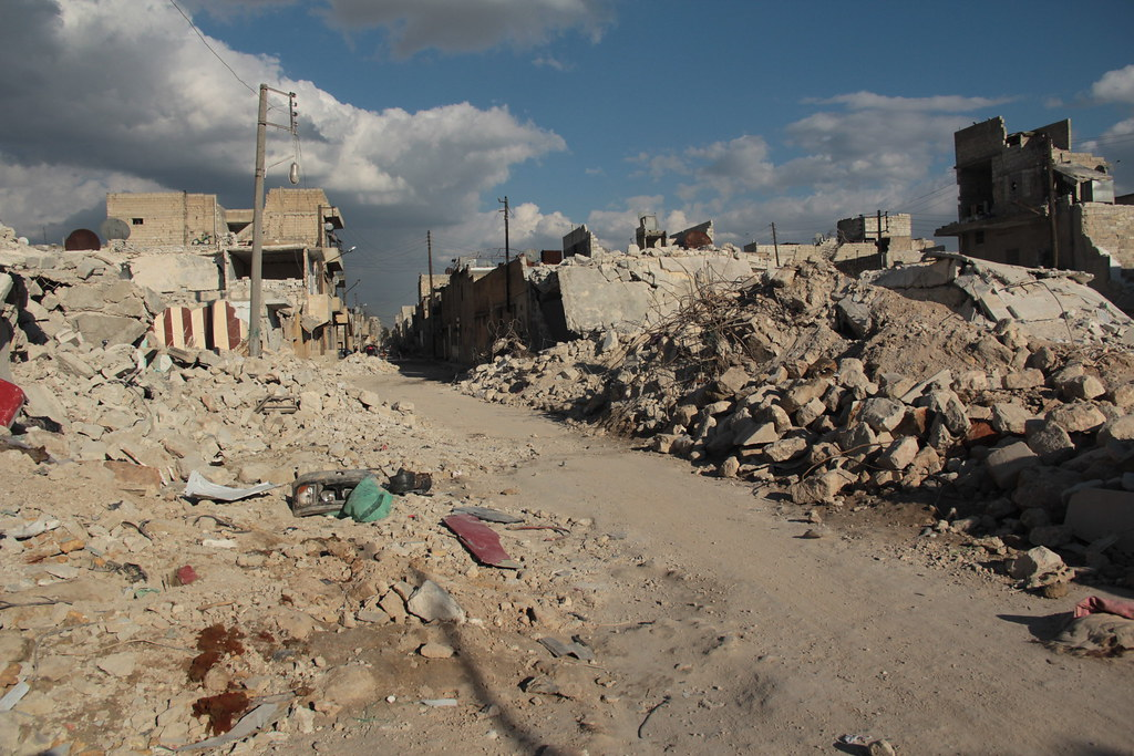 """Syria: two years of tragedy   Taree' al Bab """" Aleppo """" where…   Flickr"""