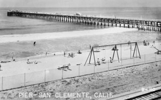 San Clemente Pier and playground