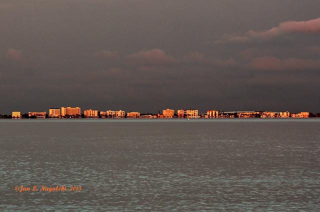 Last Light on Fort Myers Beach