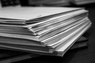 343/365 - 10 December: Paperwork build up | by Darren W