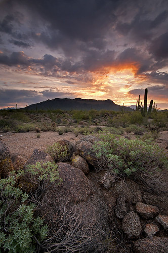 Sunrise Over Usery Mountain | by baldwinm16