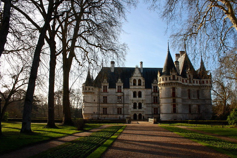 Azay-le-Rideau, December 30th, 2012
