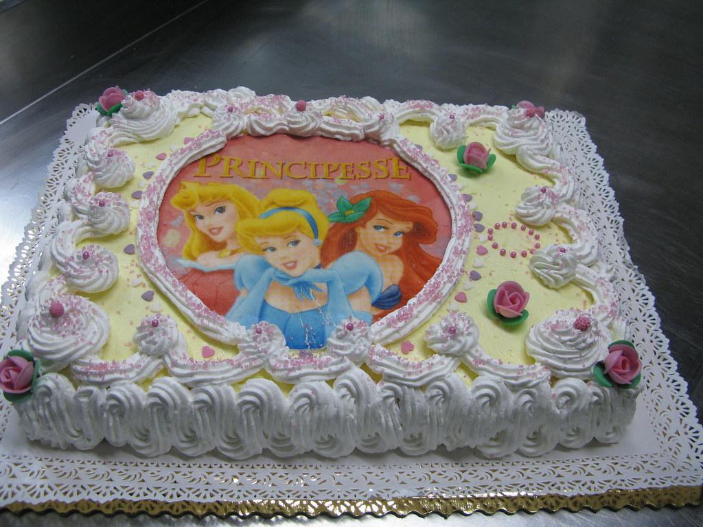 Torta Di Compleanno Per Bimba Daniel Lunardi Flickr