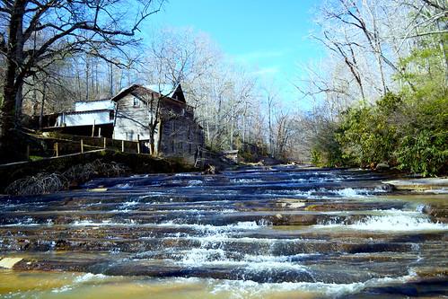 waterfalls waterwheel wilkescounty oldmills elkinnc tharpesmill bigbugaboocreek keithhallphotography