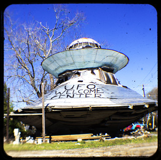 UFO Welcome Center   by DFChurch