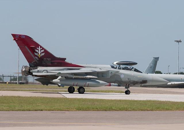 ZE785  Tornado F3  RAF  F3OEU