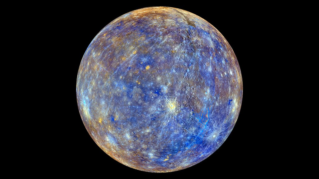 False Color View of Mercury