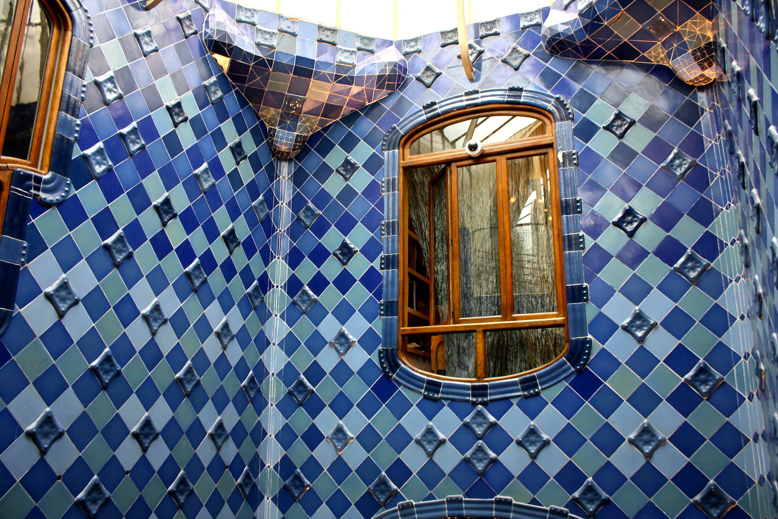 Casa Batlló by Antoni Gaudí in Barcelona, Spain