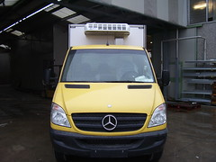 Хладилна надстройка + хладилен агрегат за Mercedes-Benz