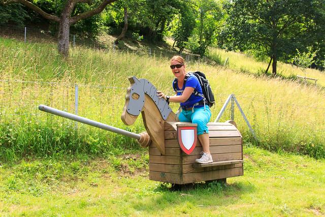Horseriding.... ;-)