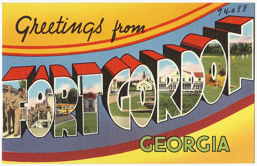 Greetings from Fort Gordon Georgia | by Boston Public Library