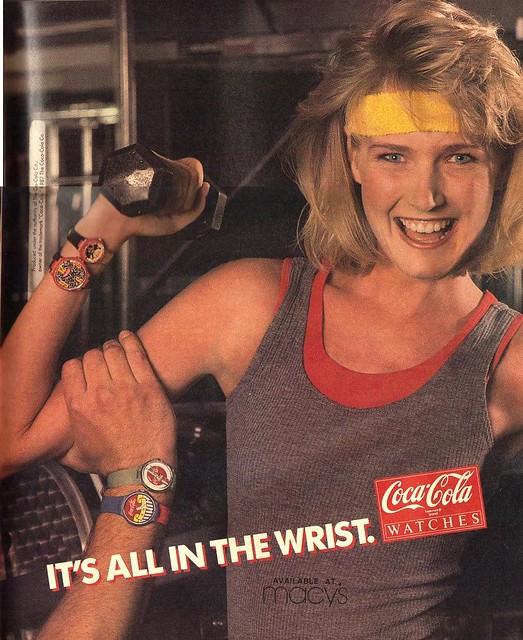 Coca Cola Watches 1988