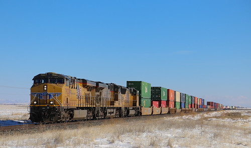 Westbound in the Sun and Snow   by erben22