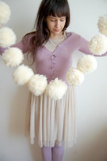 pompon scarf | by this lyre lark