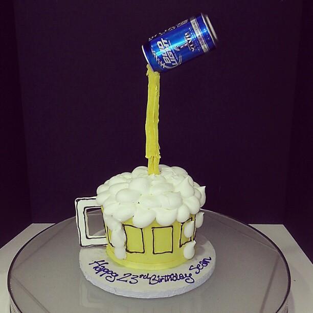 Surprising Perfect Birthday Cake For Any Guy Pair His Birthday Cake Flickr Funny Birthday Cards Online Elaedamsfinfo