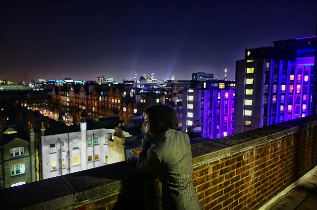 View from a London Rooftop