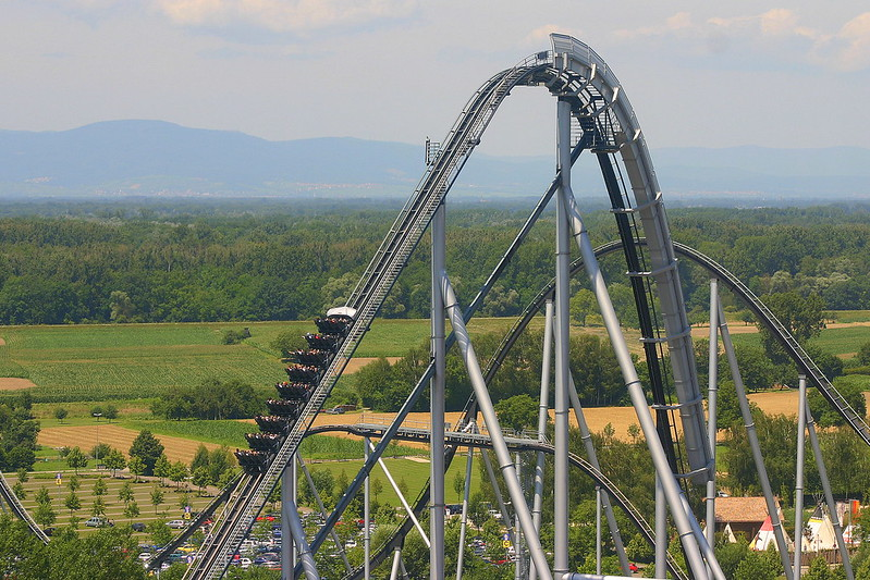 Silver Star Rollercoaster, Europa Park, Rust, Germany