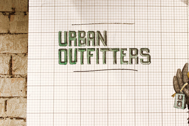 Urban Outfitters Wall Drawing